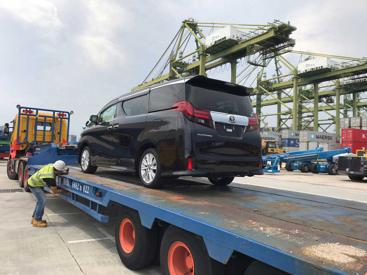 Import & Export Car to Overseas