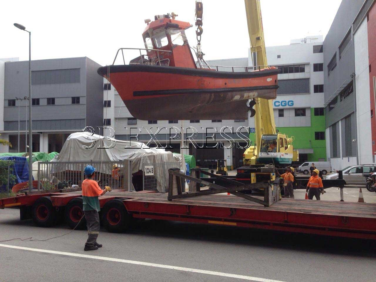 Transport Heavy Equipment